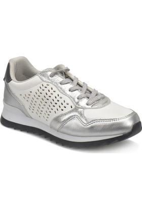Art Bella Cs18055 Beyaz Gümüş Kadın Sport Ayakkabı
