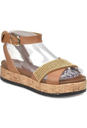 Art Bella Cs18068 Taba Kadın Sandalet 582