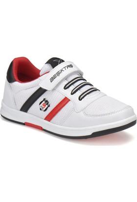 Bjk Upton J Bjk Beyaz Siyah Kırmızı Erkek Çocuk Sneaker