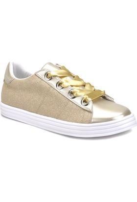 Butigo 18S-023 Altın Kadın Sneaker