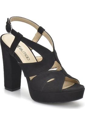 Butigo 18S-141 Siyah Kadın Topuklu Ayakkabı