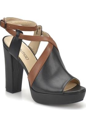 Butigo 18S-274 Siyah Kadın Sandalet