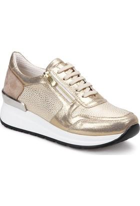 Butigo 18S-542 Altın Kadın Sneaker