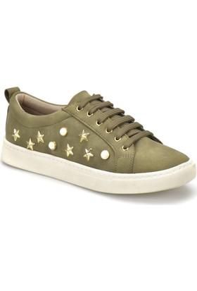Butigo 18S-003 Haki Kadın Sneaker