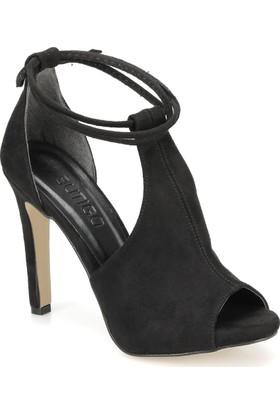 Butigo Dante 85Z Siyah Kadın Sandalet