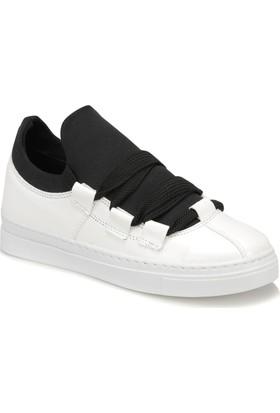 Butigo Manlio Z Siyah Gümüş Kadın Sneaker Ayakkabı