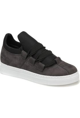 Butigo Dona77Z Gri Kadın Sneaker Ayakkabı