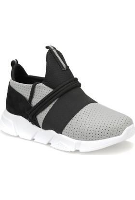 Butigo Janet77Z Gri Kadın Sneaker Ayakkabı