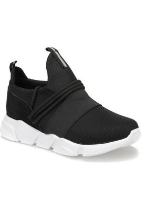 Butigo Set40V Siyah Gri Kadın Sneaker Ayakkabı