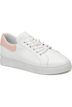 Butigo Look01Z04Z Beyaz Pudra Kadın Sneaker Ayakkabı