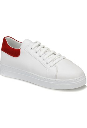 Butigo Look01Z33Z Beyaz Kırmızı Kadın Sneaker Ayakkabı