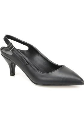 Butigo Mara85Z Siyah Kadın Topuklu Ayakkabı 349