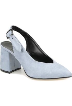 Butigo May 68Z Açık Mavi Kadın Topuklu Ayakkabı