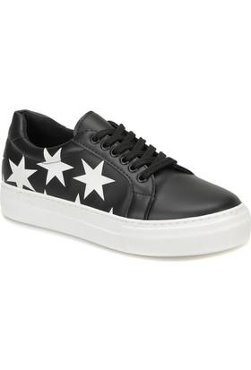 Butigo Star85Z Siyah Kadın Sneaker Ayakkabı