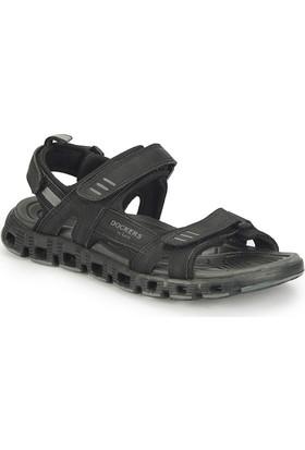 Dockers By Gerli 224757 Siyah Erkek Sandalet