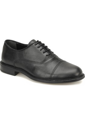 Down Town 031 Siyah Erkek Klasik Ayakkabı