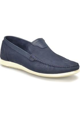 Flogart 278 M 6674 Lacivert Erkek Deri Modern Ayakkabı