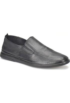 Flogart 3451 M 1366 Siyah Erkek Deri Klasik Ayakkabı