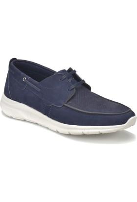 Flogart 70423 Lacivert Erkek Deri Modern Ayakkabı