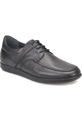 Flogart 900 M 6674 Siyah Erkek Deri Klasik Ayakkabı