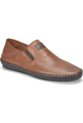 Flogart G-103 M 1455 Taba Erkek Deri Modern Ayakkabı
