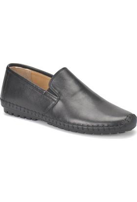 Flogart G-88 M 1455 Siyah Erkek Deri Modern Ayakkabı