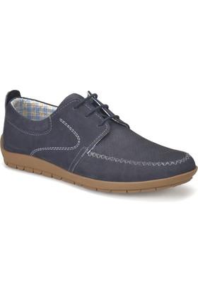 Flogart Sg-84 M 1494 Lacivert Erkek Deri Modern Ayakkabı