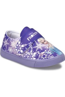 Frozen Lave Mor Kız Çocuk Sneaker