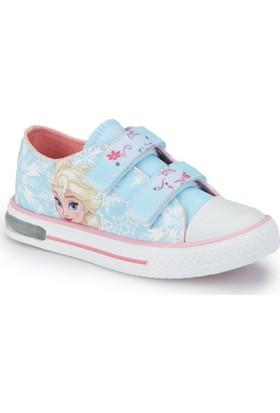 Frozen Merv-1 Mavi Kız Çocuk Ayakkabı