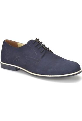 Garamond Erg-46 Lacivert Erkek Deri Ayakkabı