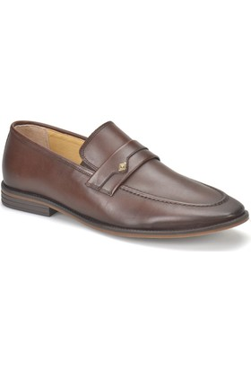 Garamond G-106 Kahverengi Erkek Deri Klasik Ayakkabı