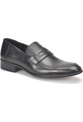 Garamond G-106 Siyah Erkek Deri Klasik Ayakkabı
