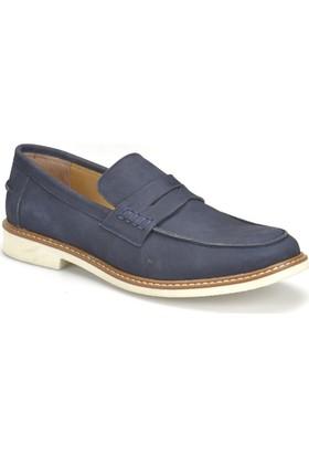 Garamond G-99 Lacivert Erkek Deri Ayakkabı