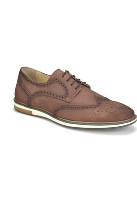 Garamond Prg-7 Kahverengi Erkek Deri Ayakkabı