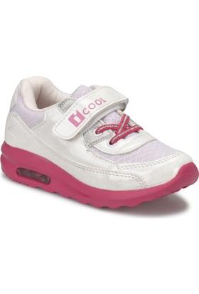 I Cool Pepe Pembe Beyaz Kız Çocuk Sneaker