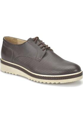 Jj-Stiller 10045-2 Kahverengi Erkek Ayakkabı