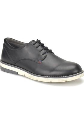 Jj-Stiller 71435-2 Siyah Erkek Ayakkabı