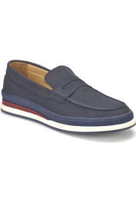 Jj-Stiller 81113-4 Lacivert Erkek Deri Ayakkabı