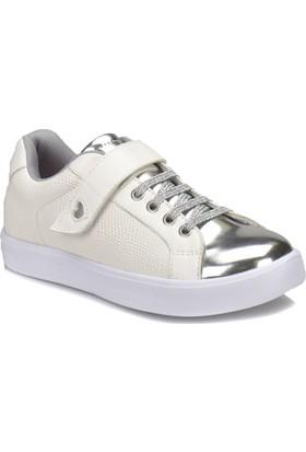 Kinetix Arıya Beyaz Gümüş Kız Çocuk Sneaker