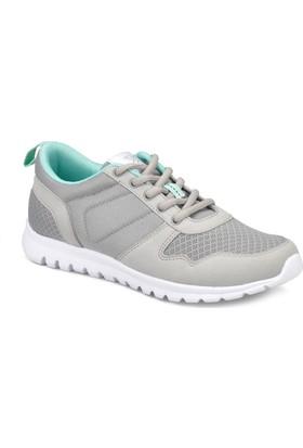 Kinetix Balera Gri Açık Yeşil Kadın Fitness Ayakkabısı