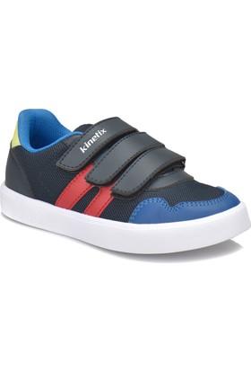 Kinetix Borıs Lacivert Kırmızı Saks Erkek Çocuk Sneaker