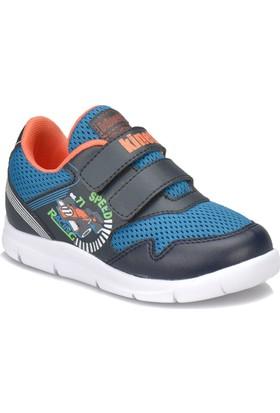Kinetix Budıno P Lacivert Petrol Turuncu Erkek Çocuk Yürüyüş Ayakkabısı