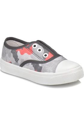 Kinetix Camro Gri Kırmızı Erkek Çocuk Sneaker