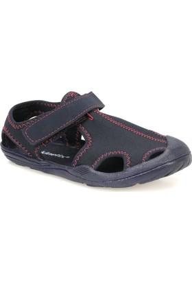 Kinetix Pıno Lacivert Neon Fusya Kız Çocuk Sandalet