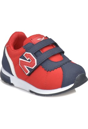Kinetix Poldy Kırmızı Lacivert Erkek Çocuk Sneaker