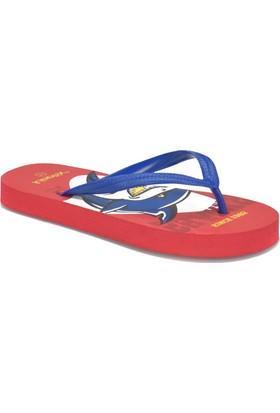 Kinetix Rangı Kırmızı Erkek Çocuk Marina / Deniz Terlik