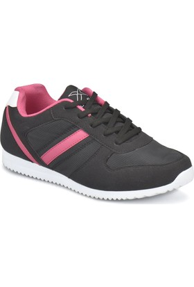 Kinetix Slam W Siyah Fuşya Kadın Sneaker