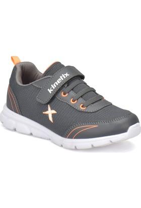 Kinetix Yannı Gri Neon Turuncu Erkek Çocuk Koşu Ayakkabısı
