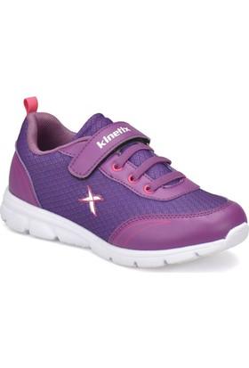 Kinetix Yannı Mor Neon Pembe Kız Çocuk Koşu Ayakkabısı