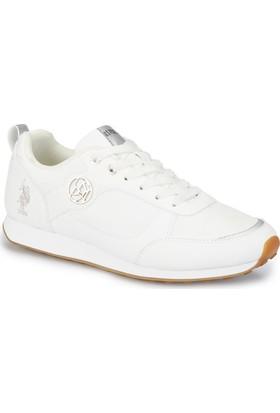 U.S. Polo Assn. Merla Beyaz Kadın Sneaker